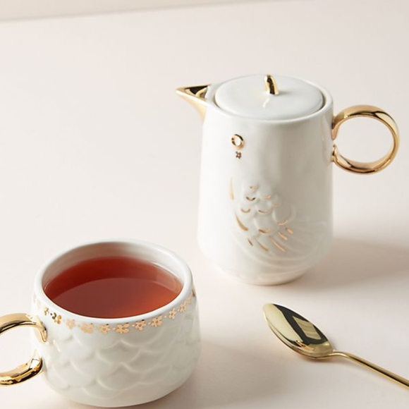 Anthropologie Other - Anthropologie Lovebirds Jerri Tea for One